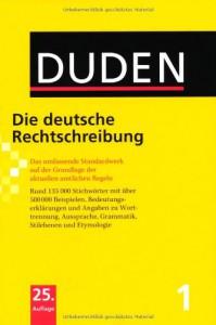 Duden 01. Die deutsche Rechtschreibung 25. Auflage