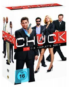 49,99: Chuck-Die komplette Serie (5 Staffeln, 23 DVDs)