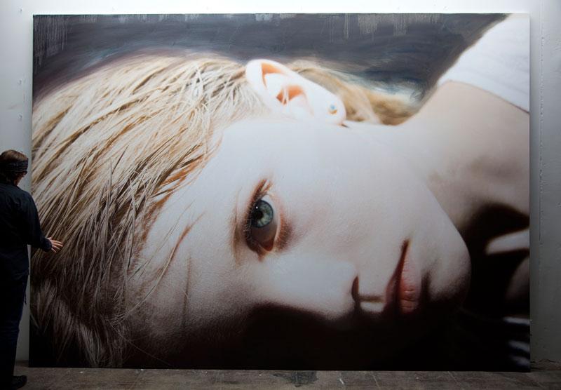 Helnwein-Kindskopf-(Anna),-2012_kl