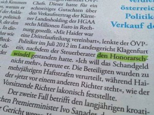 honorarsch-windel