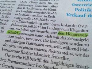 honorarsch-windel