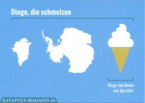 Dinge, die schmelzen – Dinge, bei denen uns das stört. Katapult-Magazin.de